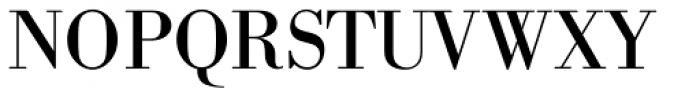 Bodoni Berthold BQ Regular Font UPPERCASE