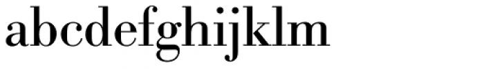 Bodoni Berthold BQ Regular Font LOWERCASE