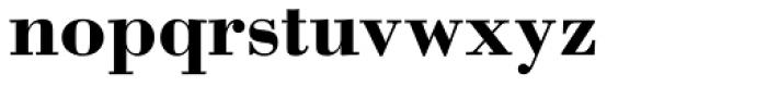 Bodoni Bold Font LOWERCASE