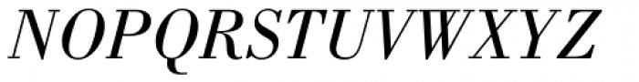 Bodoni Book Italic Font UPPERCASE