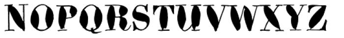 Bodoni Brush Std Font UPPERCASE
