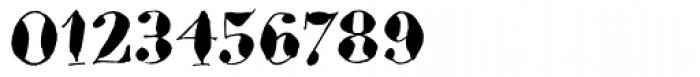 Bodoni Brush Font OTHER CHARS