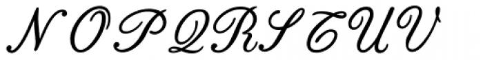 Bodoni Classic English Initials Font UPPERCASE