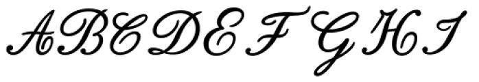Bodoni Classic English Initials Font LOWERCASE