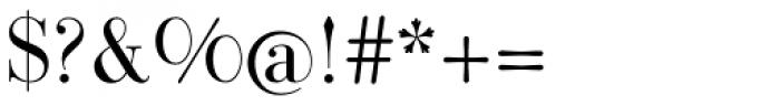 Bodoni Classic Pro B Font OTHER CHARS