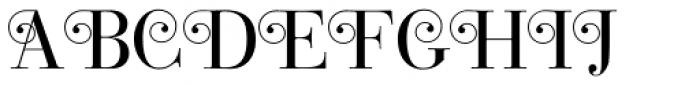 Bodoni Classic Pro B Font UPPERCASE