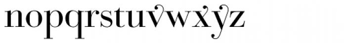 Bodoni Classic Pro B Font LOWERCASE