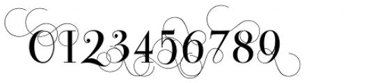 Bodoni Classic Pro C Font OTHER CHARS