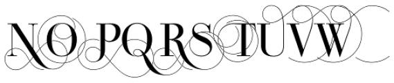 Bodoni Classic Pro C Font UPPERCASE