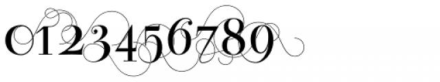 Bodoni Classic Pro D Font OTHER CHARS