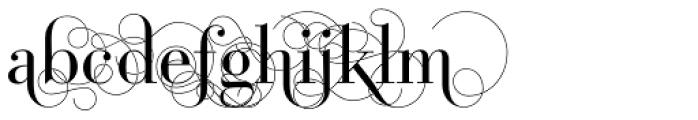 Bodoni Classic Pro D Font UPPERCASE