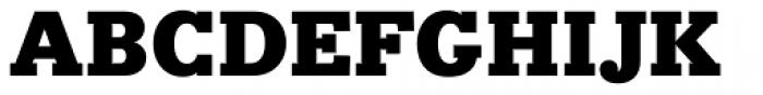 Bodoni Egyptian Pro Black Font UPPERCASE