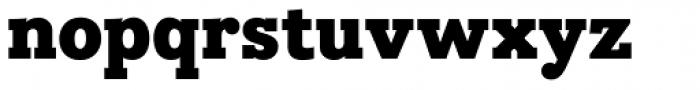 Bodoni Egyptian Pro Black Font LOWERCASE