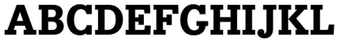 Bodoni Egyptian Pro ExtraBold Font UPPERCASE