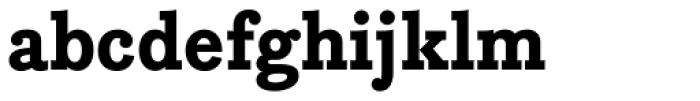 Bodoni Egyptian Pro ExtraBold Font LOWERCASE