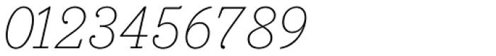 Bodoni Egyptian Pro ExtraLight Italic Font OTHER CHARS
