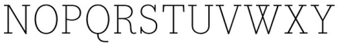 Bodoni Egyptian Pro ExtraLight Font UPPERCASE