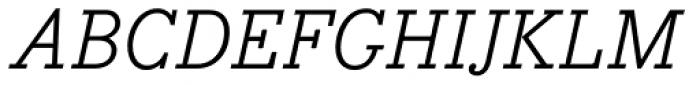 Bodoni Egyptian Pro Italic Font UPPERCASE