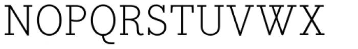 Bodoni Egyptian Pro Light Font UPPERCASE