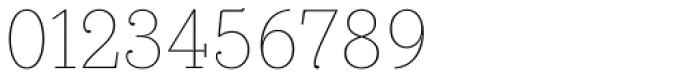 Bodoni Egyptian Pro Thin Font OTHER CHARS