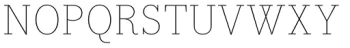 Bodoni Egyptian Pro Thin Font UPPERCASE