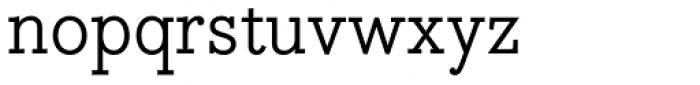 Bodoni Egyptian Pro Font LOWERCASE