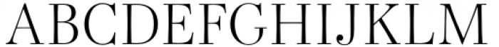 Bodoni Elegant Light Font UPPERCASE