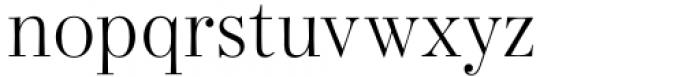 Bodoni Elegant Light Font LOWERCASE