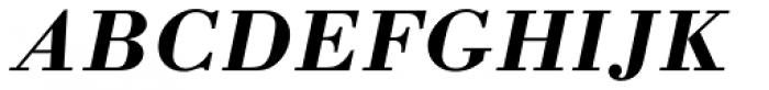 Bodoni M URW Bold Italic Font UPPERCASE