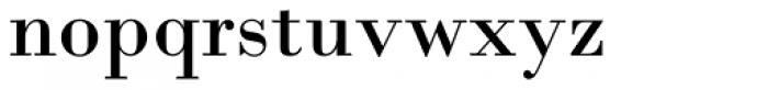 Bodoni M URW Rom Font LOWERCASE