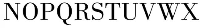 Bodoni MT Book Font UPPERCASE
