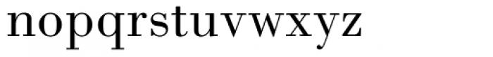 Bodoni MT Book Font LOWERCASE