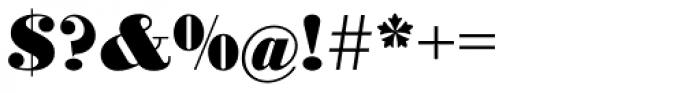 Bodoni No 1 EF Black Font OTHER CHARS
