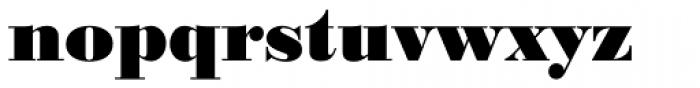 Bodoni No 1 EF Black Font LOWERCASE