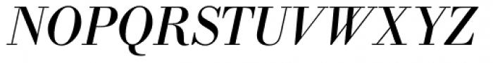 Bodoni Nr 1 SB Italic Font UPPERCASE