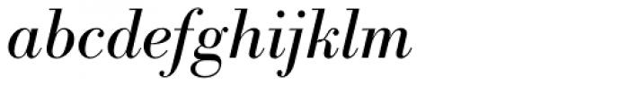 Bodoni Nr 1 SB Italic Font LOWERCASE