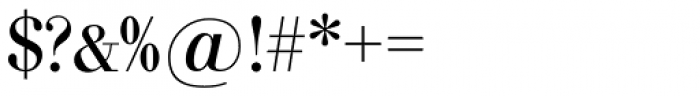 Bodoni Nr 1 SH Font OTHER CHARS