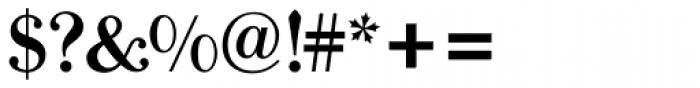Bodoni Old Face BQ Medium Font OTHER CHARS