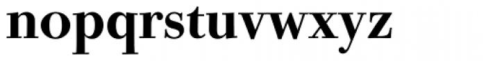Bodoni Old Face BQ Medium Font LOWERCASE