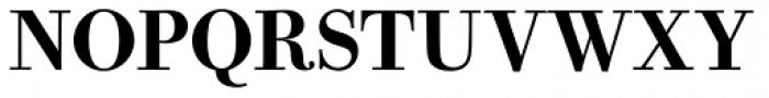 Bodoni Old Fashion URW Medium Font UPPERCASE
