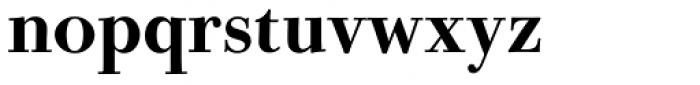 Bodoni Old Fashion URW Medium Font LOWERCASE