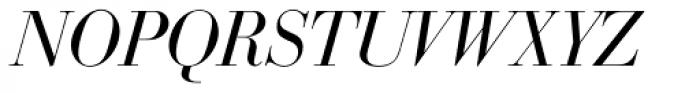 Bodoni SB Italic Font UPPERCASE