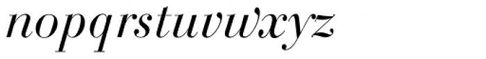 Bodoni SB Italic Font LOWERCASE
