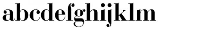 Bodoni SB Med OsF Font LOWERCASE
