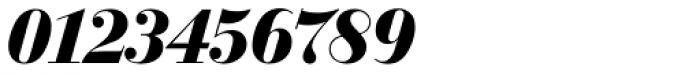Bodoni SH Bold Italic Font OTHER CHARS