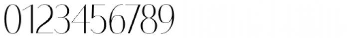 Bodoni Sans Display Light Font OTHER CHARS