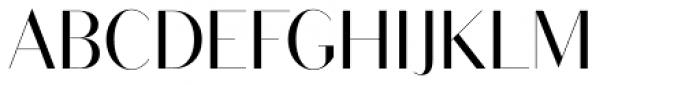 Bodoni Sans Display Regular Font UPPERCASE