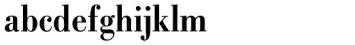 Bodoni Std Bold Condensed Font LOWERCASE