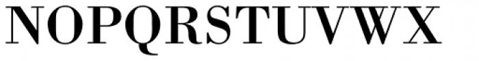 Bodoni Std Font UPPERCASE