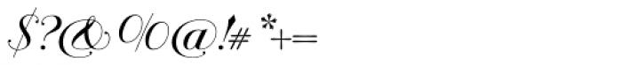 Bodonian Script 2 Font OTHER CHARS
